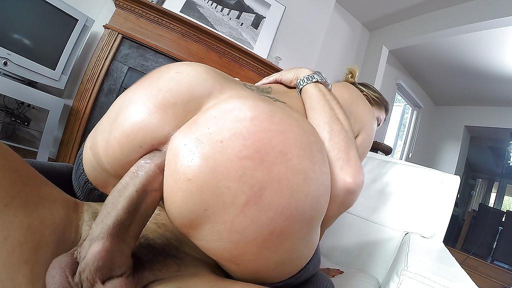 Big ass white nasty milf